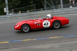 #43 Osca MT4 1957: Antoine Blasco, Jean Bongiraud