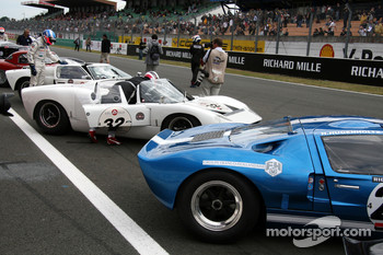 Ford GT 40 On The Grid
