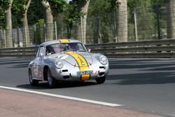 #31 Porsche 356 1960: Emmanuel Morel D'arleux, Philippe Nelis