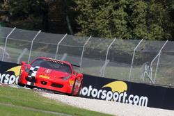 #8 Rosso Corsa - Pellin Racing Ferrari 458: Dario Caso