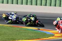 Pol Espargaro, Tech 3 Yamaha and Valentino Rossi, Yamaha Factory Racing