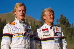 Ari Vatanen, Peugeot 405 Turbo 16 and Juha Kankkunen, Peugeot 405 Turbo 16