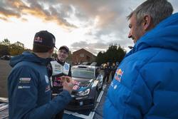 Sébastien Ogier with Jari-Matti Latvala, Volkswagen Motorsport
