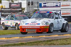 Vintage Porsche action