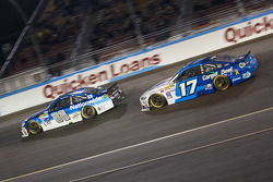 Dale Earnhardt Jr., Hendrick Motorsports Chevrolet and Ricky Stenhouse Jr., Roush Fenway Racing Ford