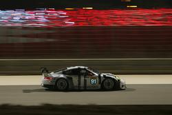 保时捷曼泰车队91号保时捷911 RSR赛车:理查德·里兹、迈克尔·克里斯滕森