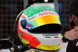 Michael Caruso, Nissan Motorsports helmet