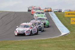 Start action: Michael Caruso, Nissan Motorsports