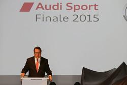 Dr. Dietmar Voggenreiter, board member of AUDI AG, Sales and Marketing