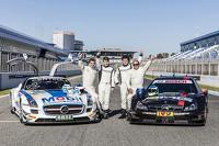 DTM Photos - Sebastian Asch, Luca Ludwig, Klaus Ludwig, Roland Asch, Mercedes-AMG DTM Team