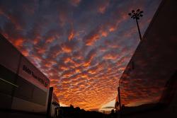 The sun sets over Jerez
