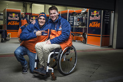 Alex Hofmann and Pit Beirer, KTM Head of Motorsport