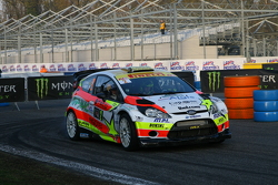 Alessandro Perico and Moreno Morello, Ford Fiesta