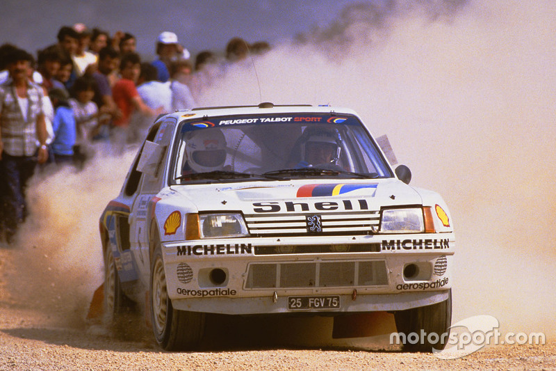 Timo Salonen and Seppo Harjanne, Peugeot 205 T16