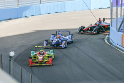 Daniel Abt, ABT Schaeffler Audi Sport and Robin Frijns, Amlin Andretti Formula E and Stéphane Sarrazin, Venturi Formula E Team