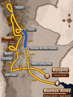 Stage 3: Termas de Río Hondo - Jujuy