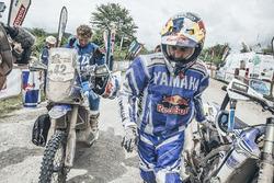 #7 Yamaha: Helder Rodrigues, #42 Yamaha: Adrien van Beveren