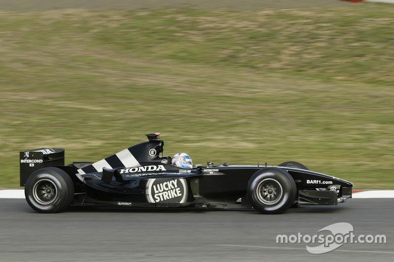 Anthony Davidson, BAR Honda