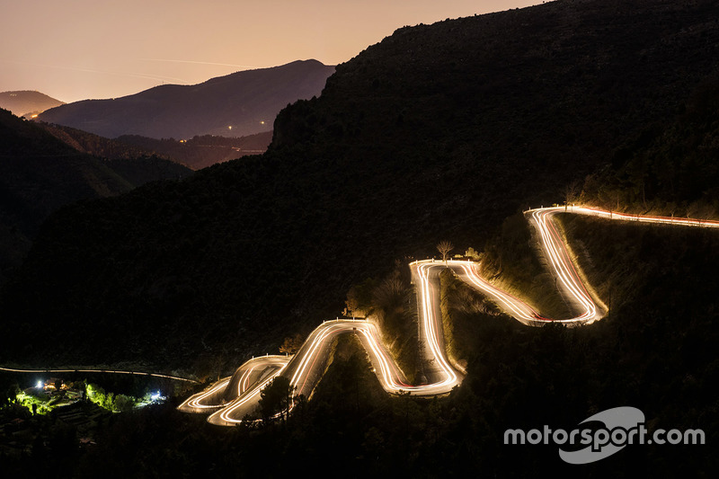 3. The famous and treacherous roads around the Monte Carlo area