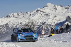 马特·奥斯伯格、奥拉·弗洛尼,M-Sport福特Fiesta WRC
