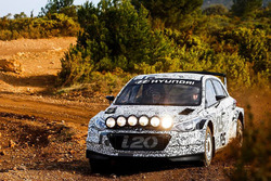 Hyundai i20 R5 shakedown