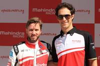 Fórmula E Fotos - Nick Heidfeld and Bruno Senna, Mahindra Racing