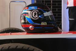 Nick Heidfeld, Mahindra Racing helmet