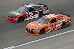 Austin Dillon, Richard Childress Racing Chevrolet; Daniel Suarez, Joe Gibbs Racing Toyota