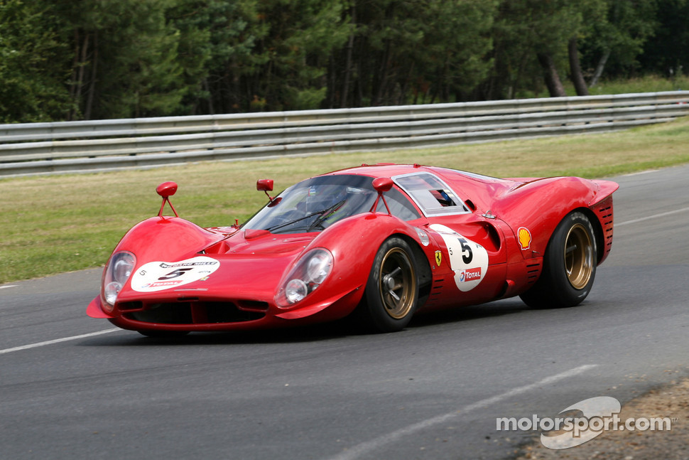 Ferrari 330 P3 on race car suspension front