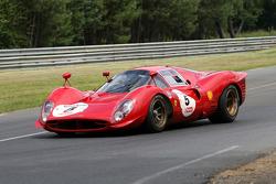 #5 Ferrari 330 P3 1966: Harry Leventis, Nick Leventis