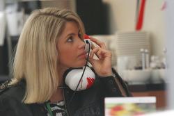 Timo Glock, Toyota F1 Team, girlfriend