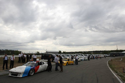 Cars ready for race 1