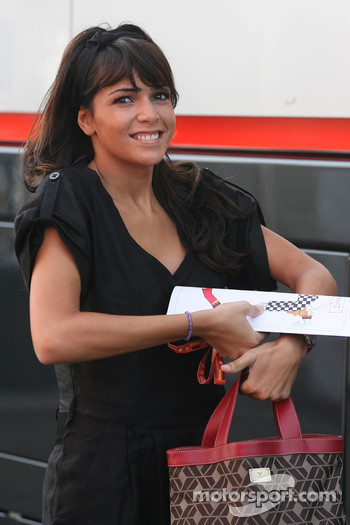 Raquel Rosario Wife of Fernando Alonso