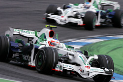 Rubens Barrichello, Honda Racing F1 Team, Jenson Button, Honda Racing F1 Team