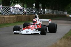 Chris Goodwin, 1974 McLaren Cosworth M23 (ex Emerson Fittipaldi)
