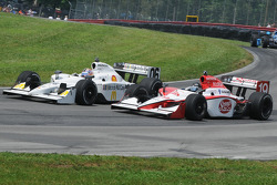 Mario Moraes and Graham Rahal battle for position