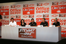 Stewart-Hass Racing Press Conference
