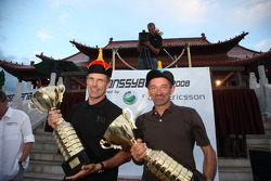 Podium: winners Christian Lavieille and François Borsotto