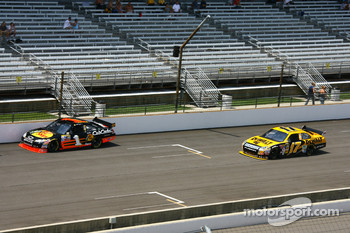 Martin Truex Jr. and Matt Kenseth