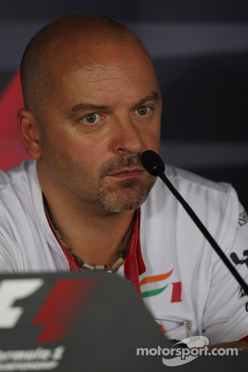 Mike Gascoyne, Force India F1 Team, Chief Technology Officer