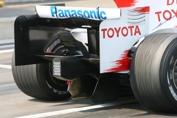 Diffuser Feature, Toyota F1 Team
