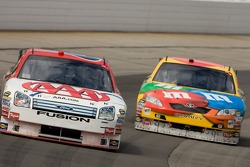 David Ragan and Kyle Busch