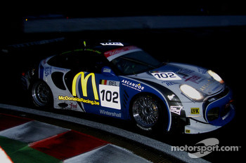 #102 McDonald Racing Porsche 996 Bi-Turbo: Aliaksandr Talkanitsa, Philippe Ullmann, Kenneth Heyer, Wolfgang Kaufmann