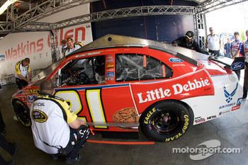Little Debbie Ford at tech inspection