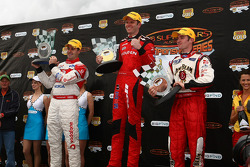 Garth Tander first Jamie Whincup second and Will Davison third