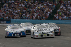 Brad Keselowski, Dario Franchitti, Steve Wallace and David Ragan