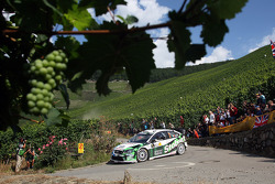 Gigi Galli and Giovanni Bernacchini, Stobart VK M-Sport Ford World Rally Team, Ford Focus RS WRC