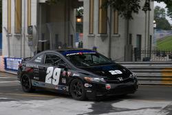 #29 Bill Fenton Motorsports Honda Civic SI: Bob Beede, Bob Endicott