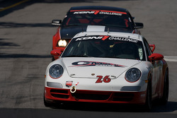 #26 CMAX/ Unitech Racing Porsche 997: David Riddle, Kris Wilson