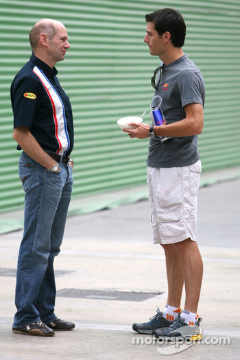 Adrian Newey, Mark Webber, Red Bull Racing